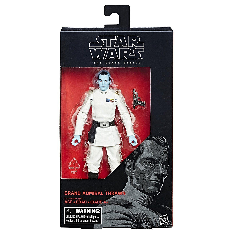 Hasbro Star Wars The Black Series 6″ Grand Admiral Thrawn In-Stock On Amazon