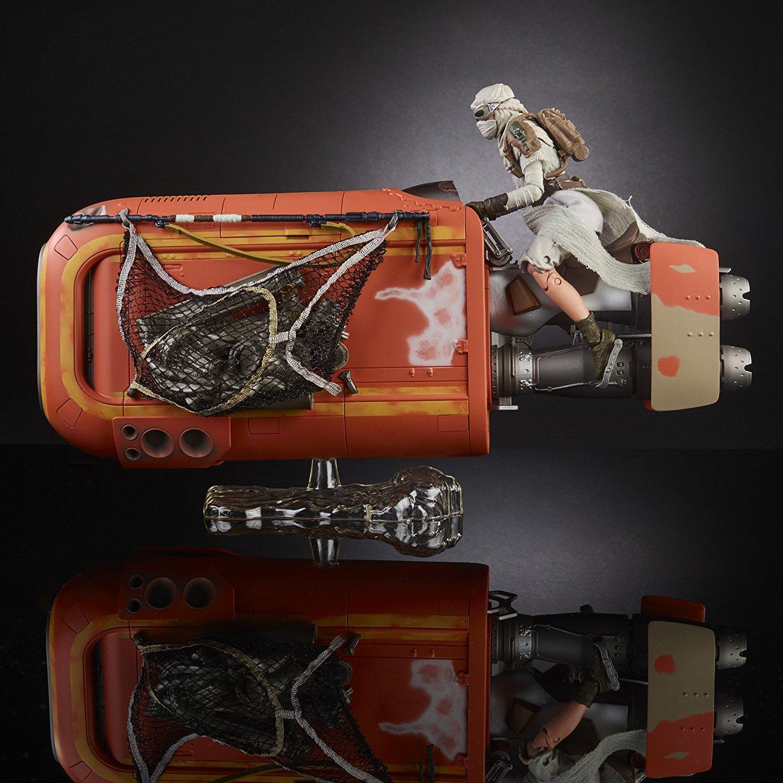 Hasbro Star Wars The Black Series Rey Speeder & Centerpieces On Amazon