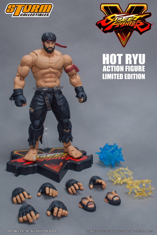 Storm Collectibles NYCC 2017 Exclusive Street Fighter & Mortal Kombat Figures