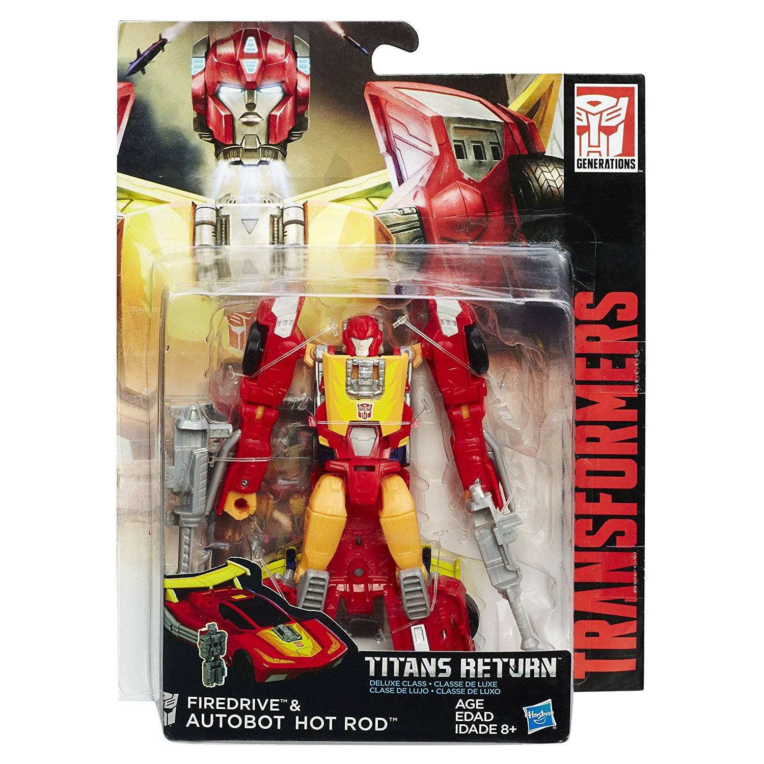 Transformers Titans Return Hot Rod And Firedrive Figures For $9.99 On Amazon