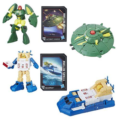 Transformers Titans Return Seaspray & Cosmos Figures In-Stock On Amazon