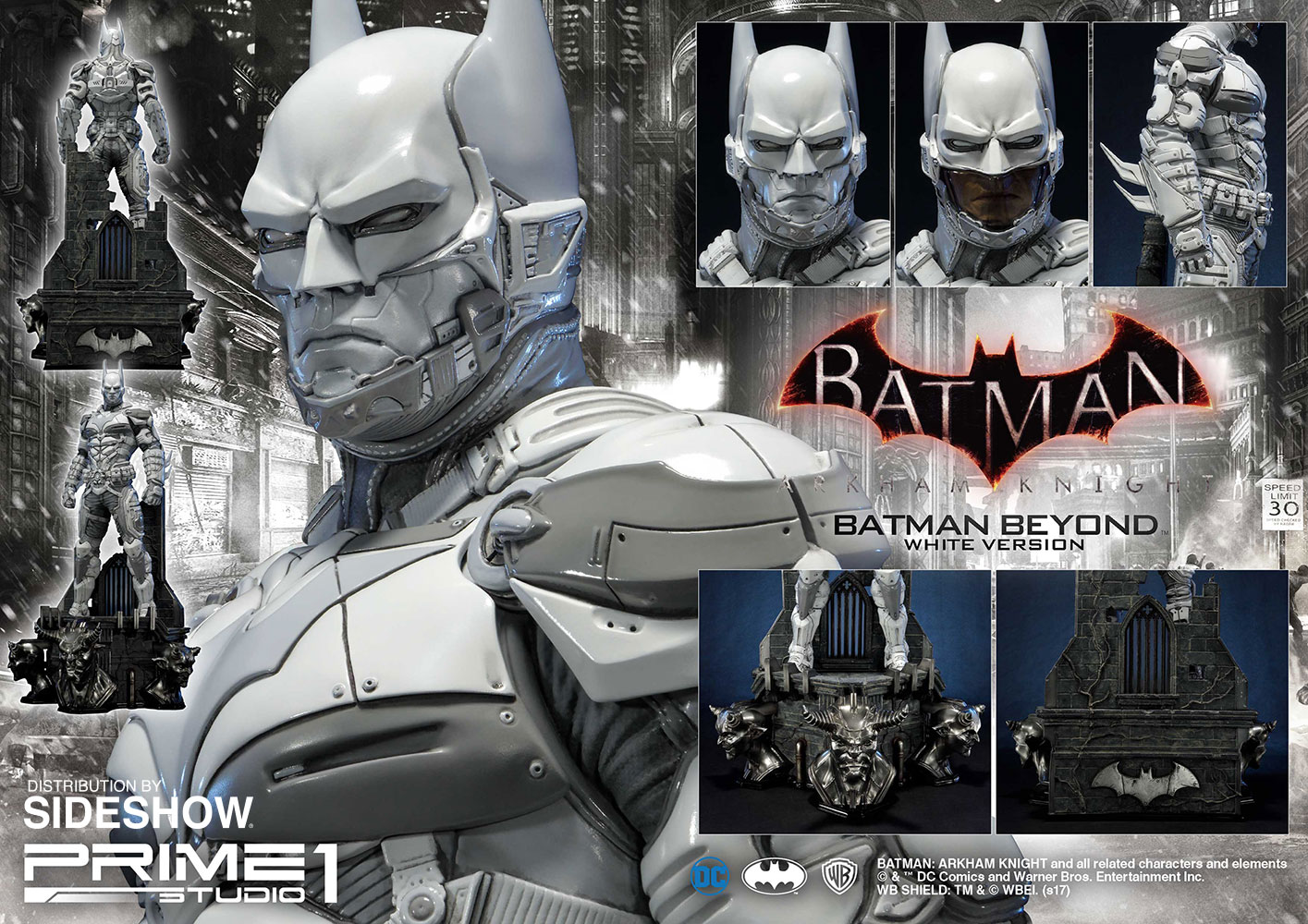 Prime 1 Studio Batman Beyond – White Version Statue Pre-Orders