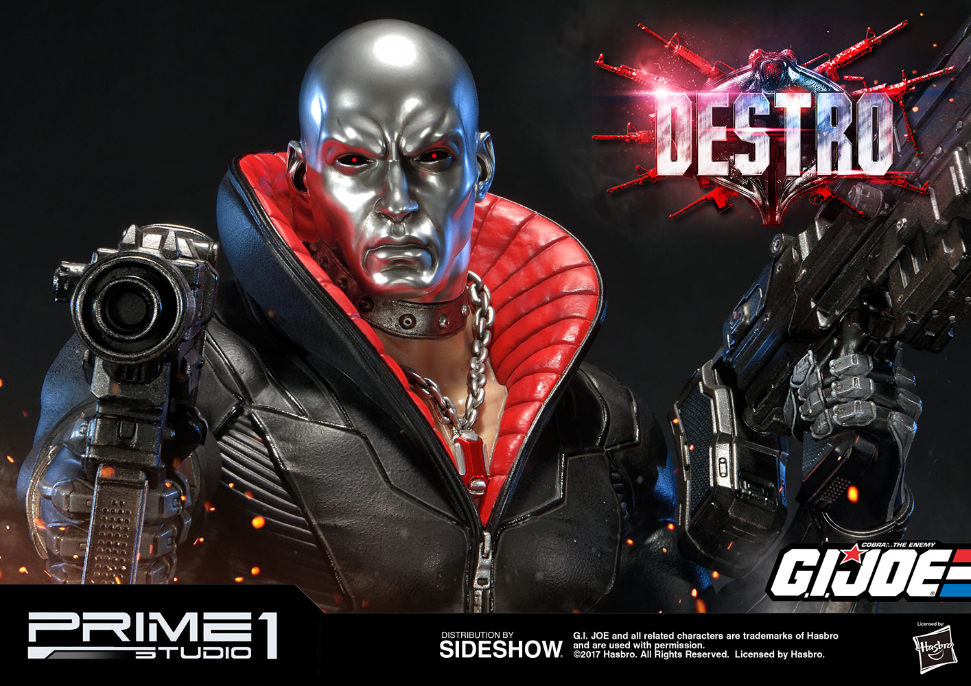 Prime 1 Studio G.I. Joe Destro Statue Pre-Orders