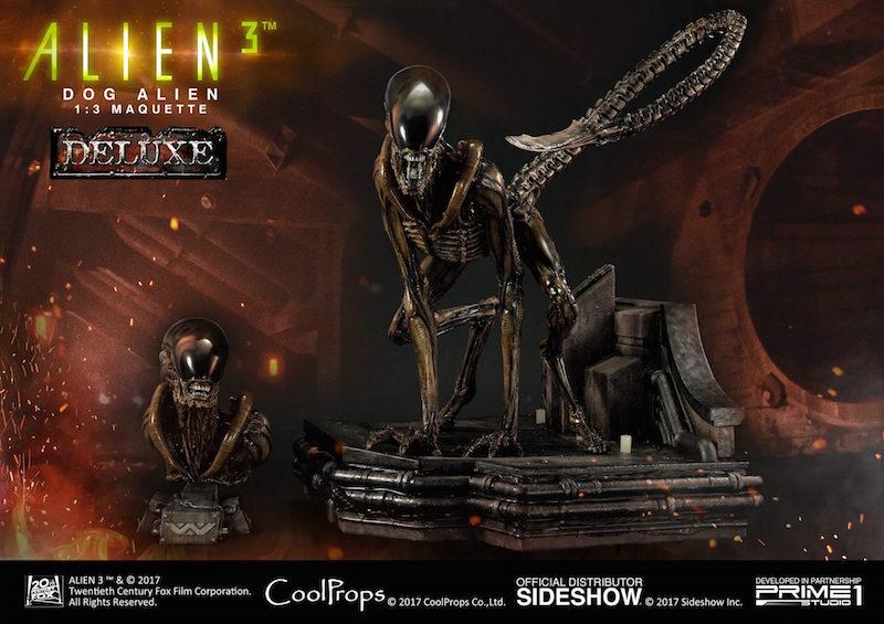 Prime 1 Studio & CoolProps Announce Alien 3 Dog Alien Statue