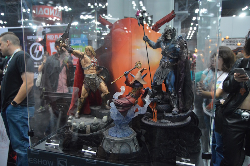 NYCC 2017 – Sideshow Collectibles Booth Coverage