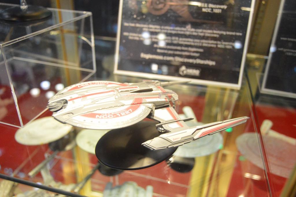 NYCC 2017 – Eaglemoss Star Trek: Discovery Ships