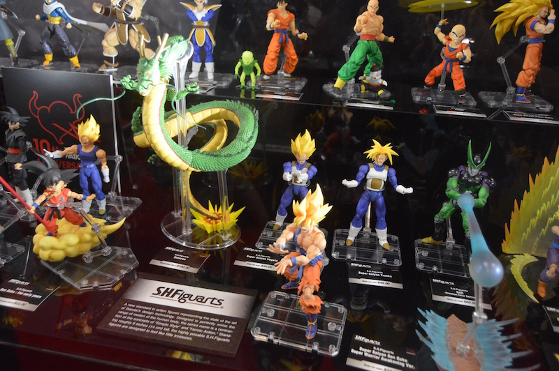 NYCC 2017 – Bluefin Booth Coverage – S.H. Figuarts Dragonball Z, Batman, Justice League Movie & Marvel