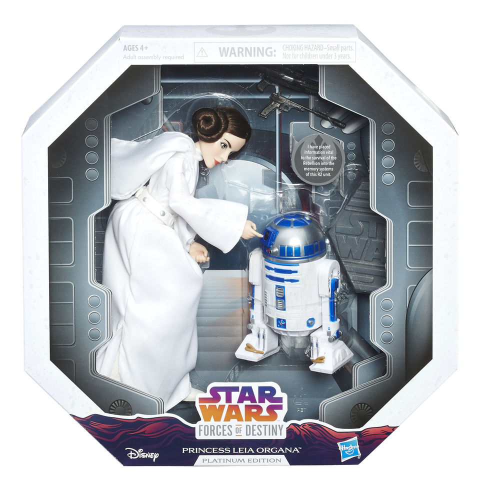 Star Wars: A New Hope – Forces Of Destiny Princess Leia And R2-D2