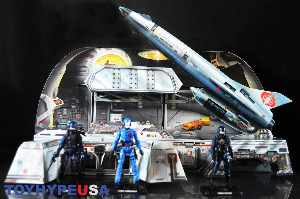 Hasbro SDCC 2017 Exclusive G.I. Joe Cobra Missile Command Headquarters Review