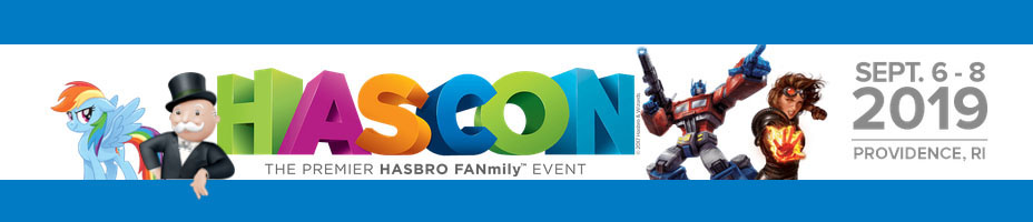 Hasbro Announces HasCon 2019 With Official Details