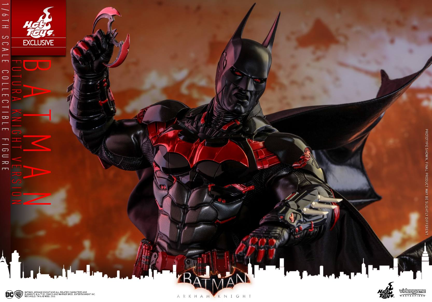 Hot Toys Batman: Arkham Knight – Batman Futura Version Sixth Scale Figure