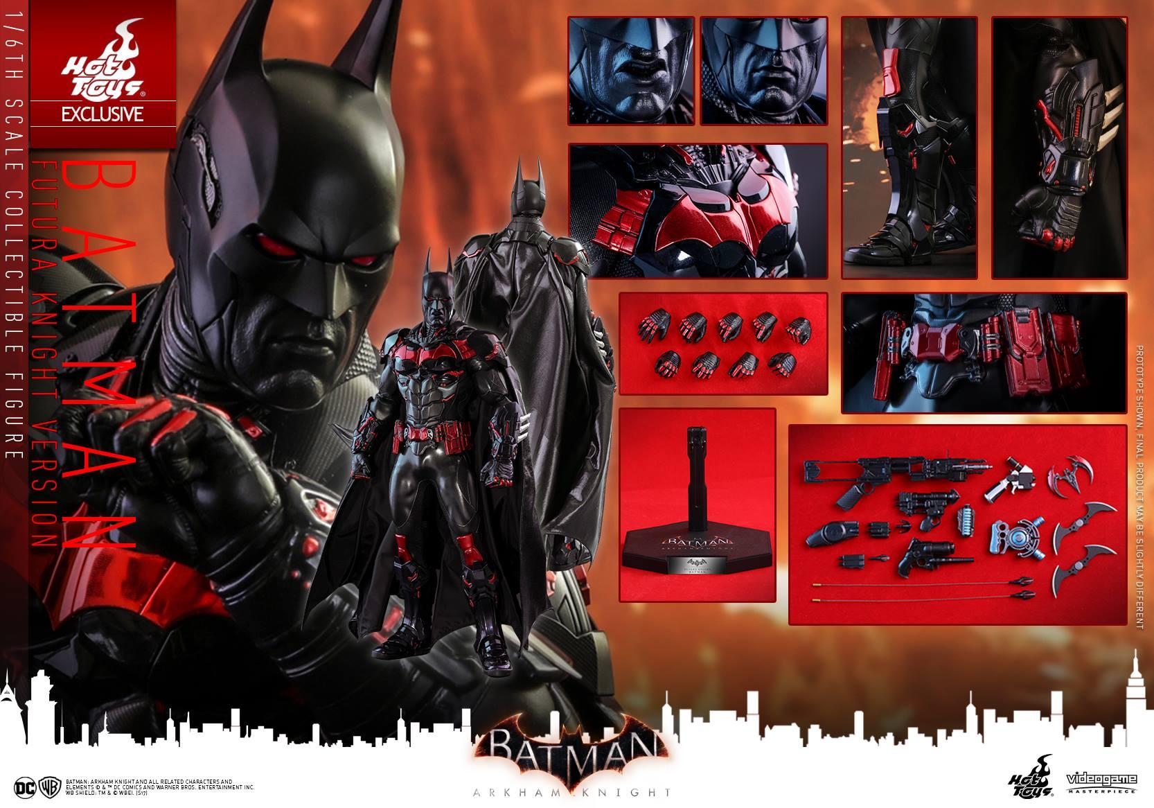 Hot Toys Batman: Arkham Knight – Batman Futura Version Sixth Scale Figure Pre-Orders