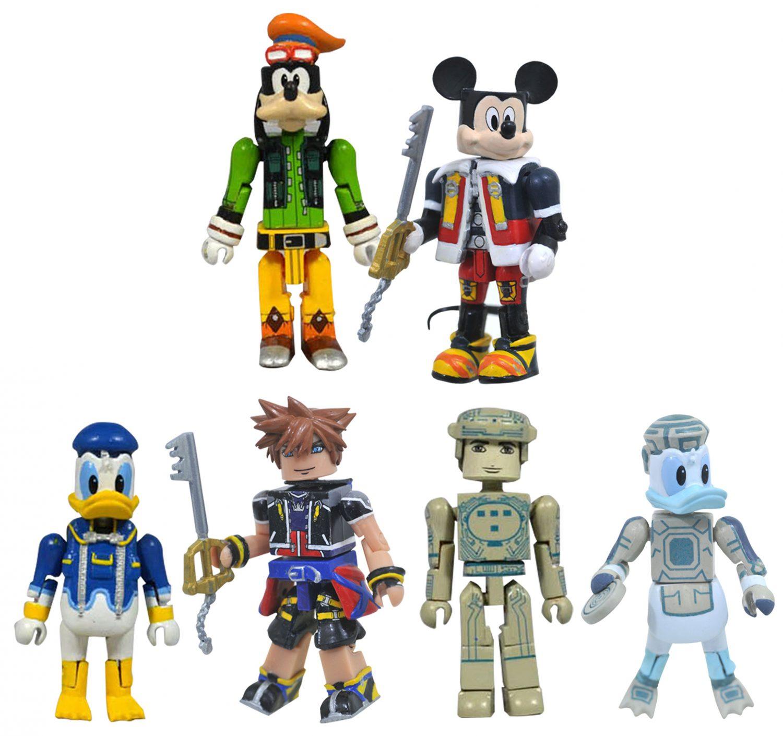 Diamond Select Toys Shipping This Week – Kingdom Hearts Minimates Series 1