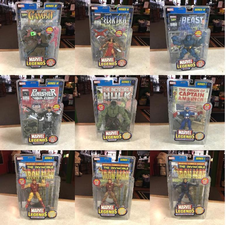 Kokomo Toys eBay Store Update – Toybiz Marvel Legends 6″ Figures
