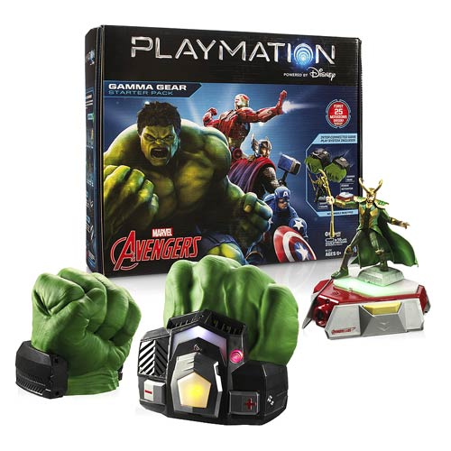 Entertainment Earth Daily Deal – Marvel Avengers Playmation Gamma Gear Hulk Hands Starter Pack