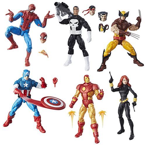 Entertainment Earth Now Shipping Hasbro Marvel Legends 6″ Vintage Figures Wave 1