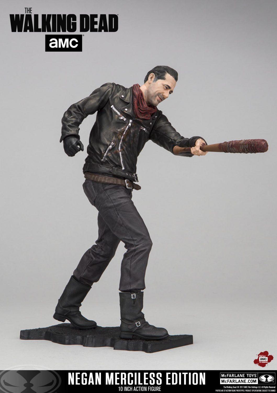 McFarlane Toys The Walking Dead 10″ Deluxe Negan Figure New Details & Images