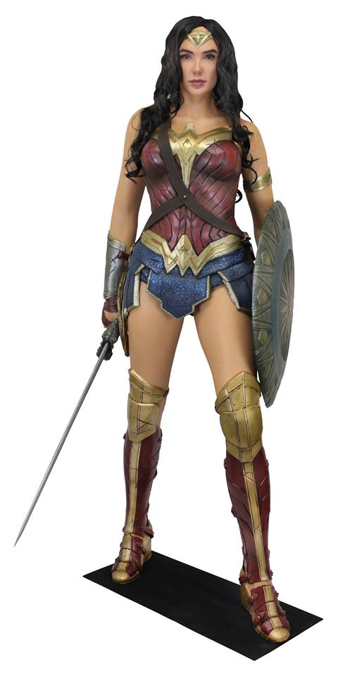 NECA Toys Wonder Woman Movie Life-Size Foam Figure On Amazon & eBay