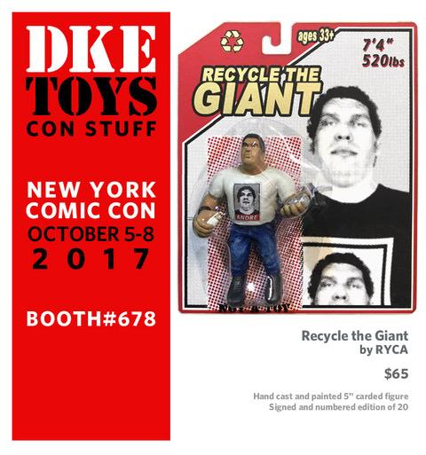 DKE Toys Announces New York Comic-Con 2017 Exclusives