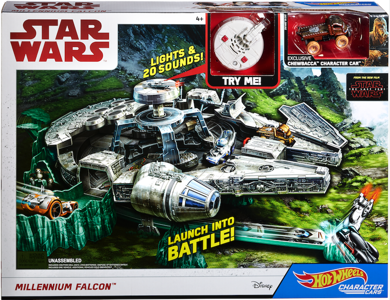 New Hot Wheels Star Wars The Last Jedi Product Hitting Shelves Force Friday