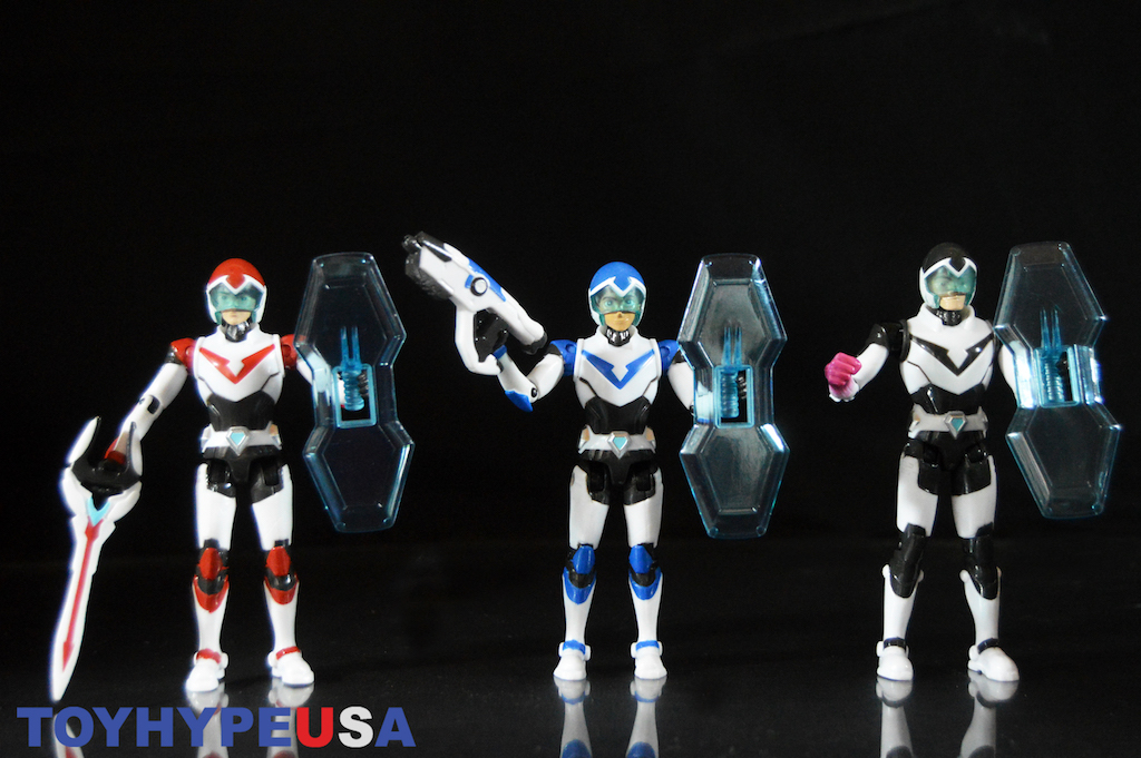 Playmates Toys Voltron: Legendary Defender Keith, Lance & Shiro Figures Review