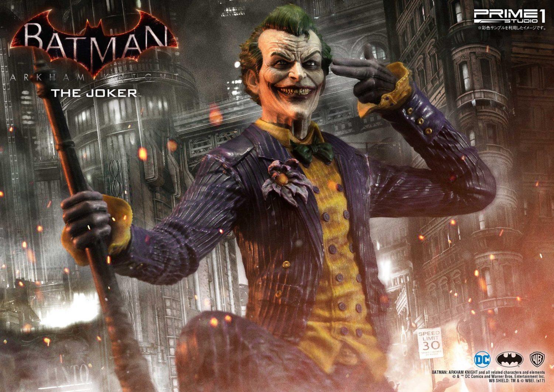 Prime 1 Studio Batman: Arkham Knight – The Joker Statue