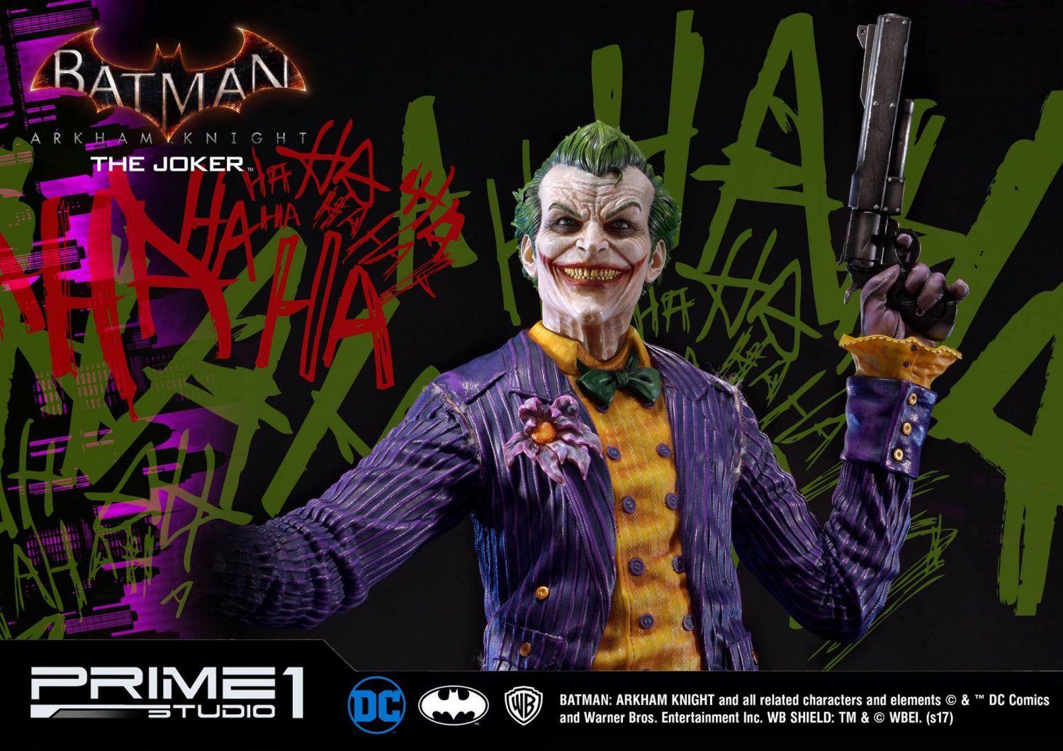 Prime 1 Studio Batman: Arkham Knight – The Joker Statue Pre-Orders