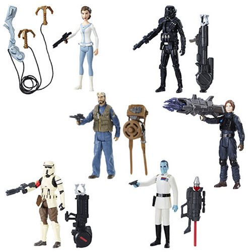 Star Wars Rogue One 3 3/4″ Wave 3 Set Now $29