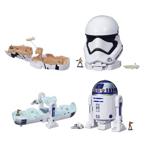 Entertainment Earth Daily Deal – Star Wars: The Force Awakens MicroMachines Battle Set Playsets Wave 1