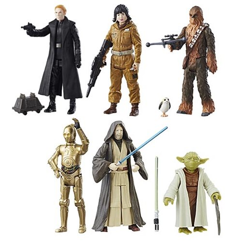 Entertainment Earth – Star Wars: The Last Jedi Teal 3 3/4″ Figures Wave 2 In-Stock
