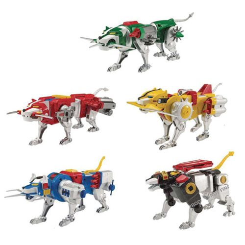 Entertainment Earth – Playmates Toys Classic Voltron Lions Back Up For Pre-Order