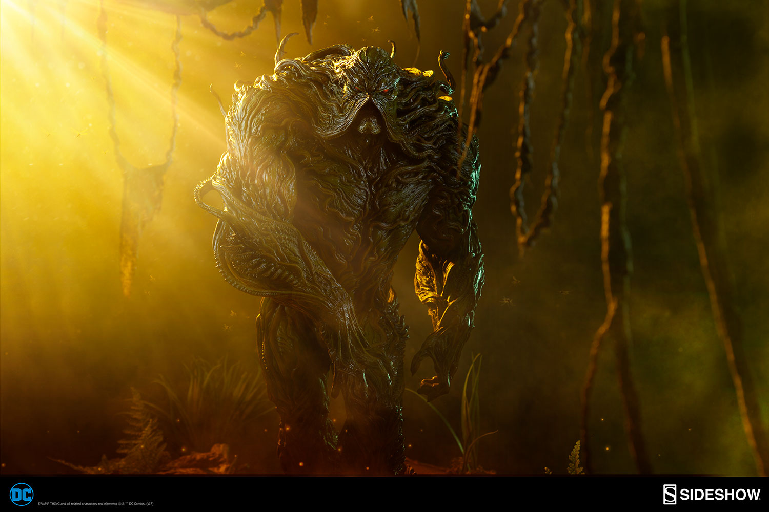 Sideshow Collectibles Swamp Thing Maquette Pre-Orders