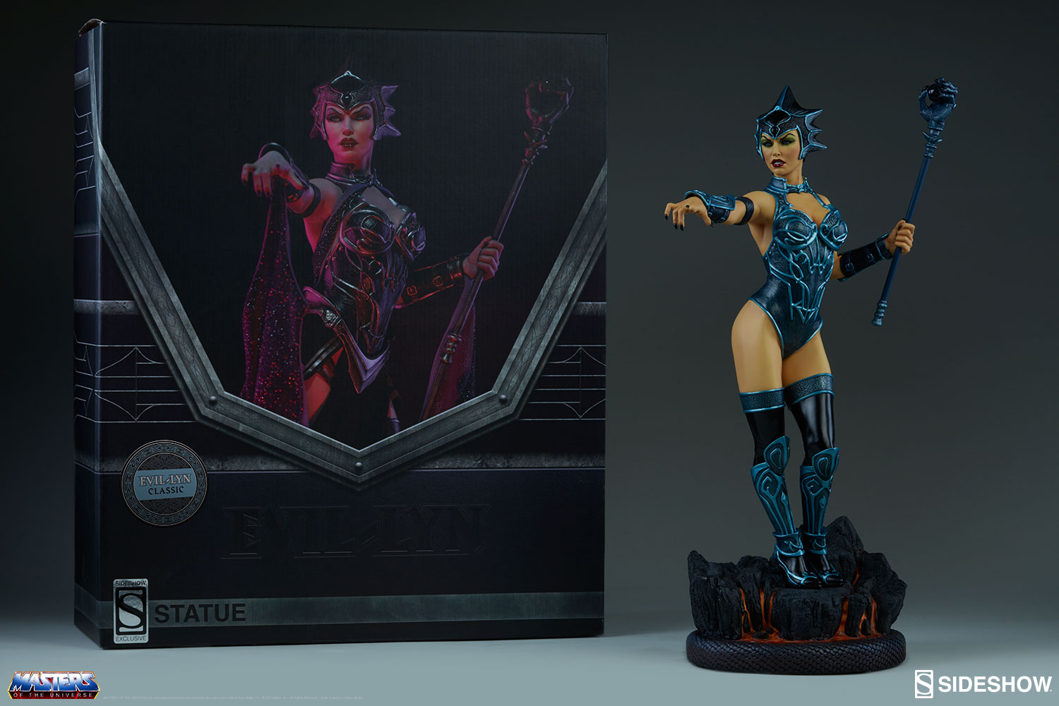 Sideshow Collectibles Masters Of The Universe Evil-Lyn Classic Statue Pre-Orders