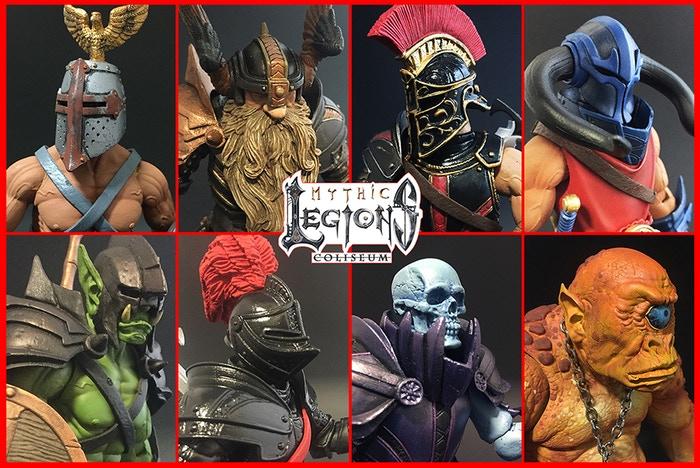 Four Horsemen Studios – Mythic Legions: Coliseum, Advent Of Decay & Ogre Update