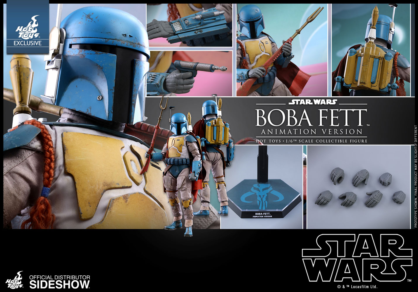 Hot Toys Boba Fett Animation Version Sixth Scale Figure Pre-Orders