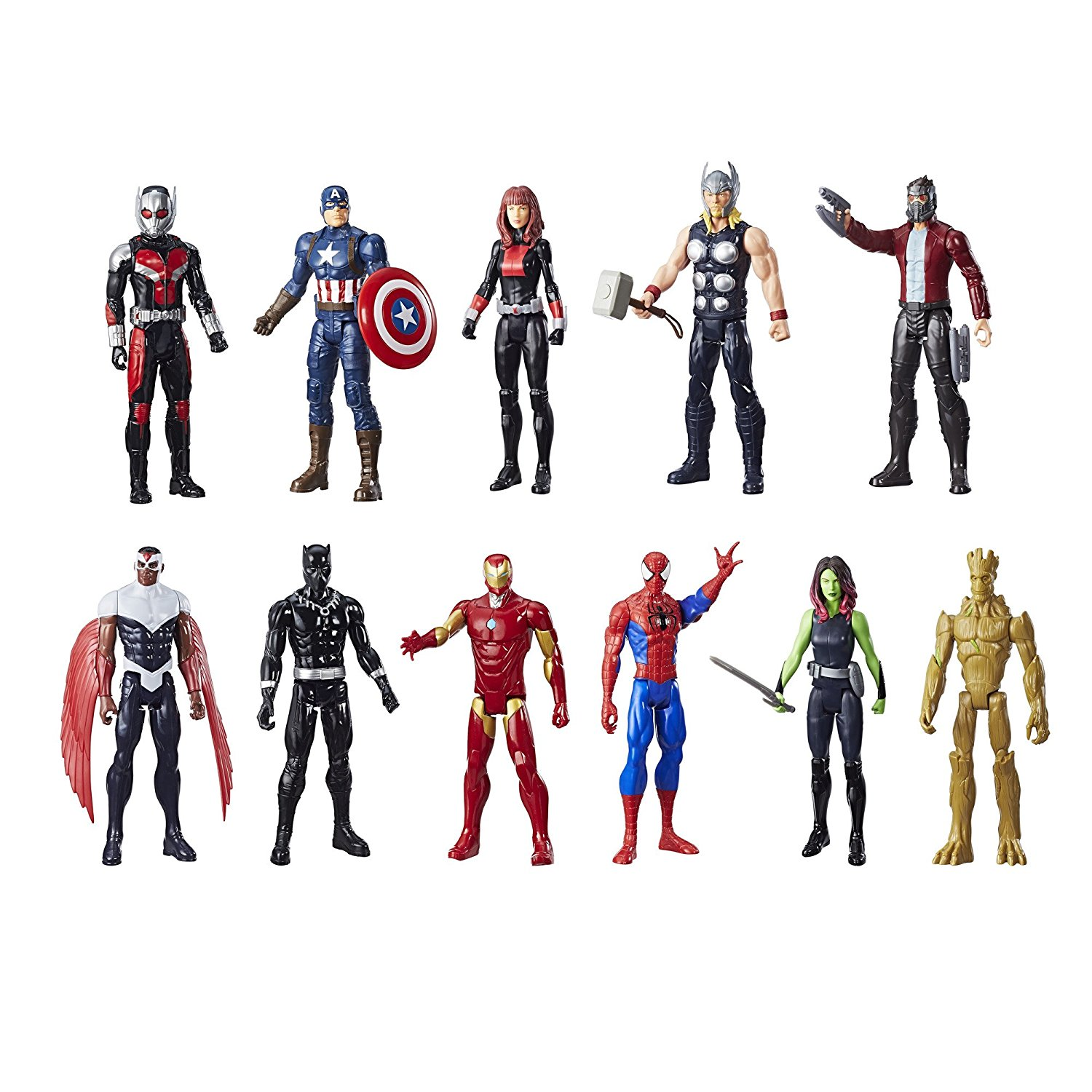 Amazon Exclusive Marvel Titan Hero 11-Pack From Hasbro Available Now