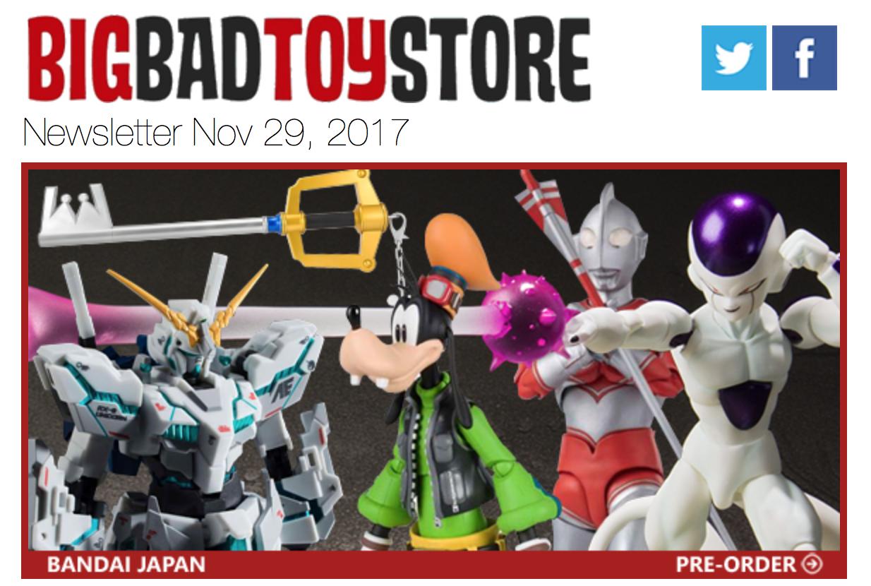 BigBadToyStore: S.H.Figuarts Frieza, Goofy, Bandai Jp, Cyber Monday, MAFEX, Devil May Cry, Transformers, NECA Ultimate & More