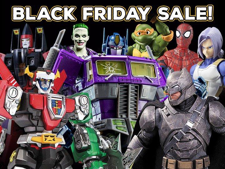 BigBadToyStore: Black Friday Sale, TF POTP, Hulk, Justice League, Star Wars, Play Arts Kai, Ghostbusters & More