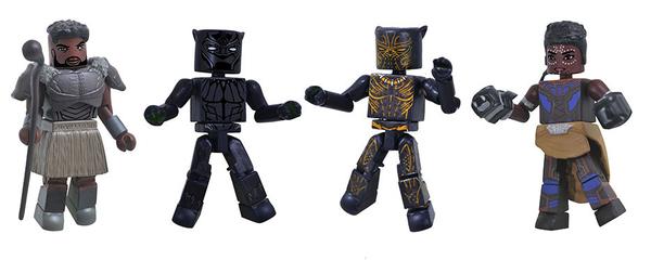 Diamond Select Toys Black Panther Movie Minimates Boxset