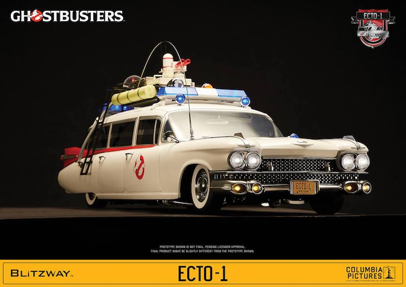 Blitzway Ghostbusters Ecto-1 Sixth Scale Vehicle Pre-Orders (Update)