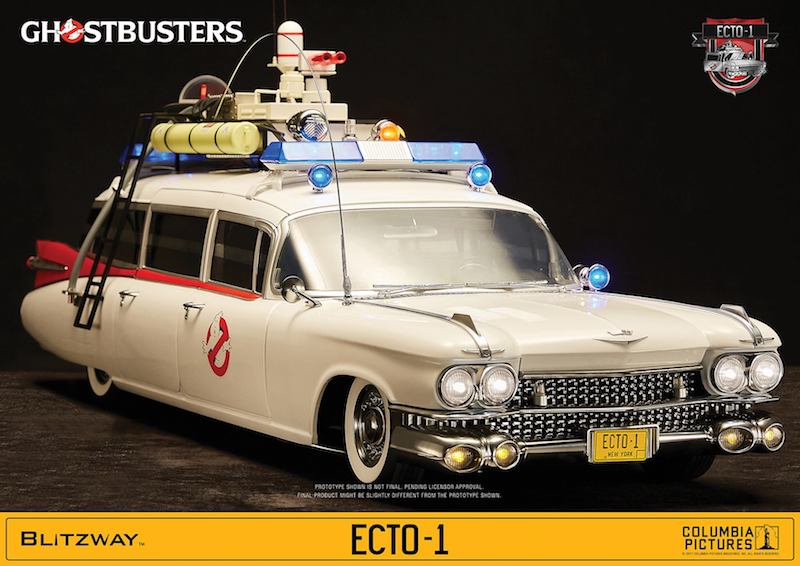 Sideshow Collectibles – Blitzway Ghostbusters Ecto-1 Sixth Scale Vehicle Pre-Orders