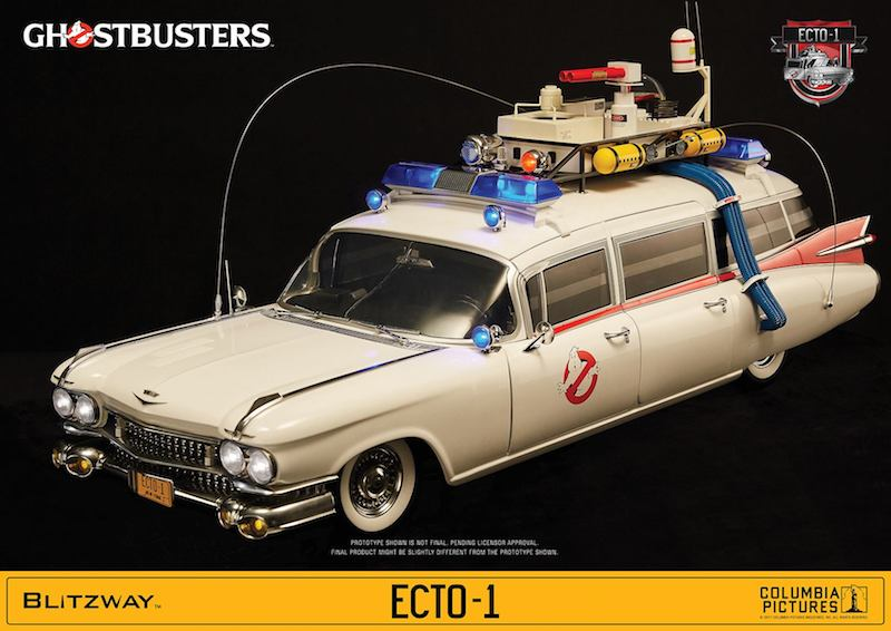 Bluefin Announces Ghostbusters Ecto-1 Sixth Scale Vehicle Pre-Orders