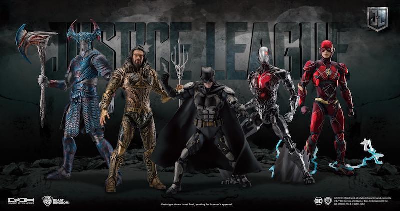 Beast Kingdom Dynamic 8ction Heroes Justice League Movie Figures