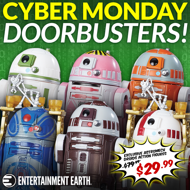 Entertainment Earth: Star Wars TBS Astromech Droids Box Set Back To $29.99