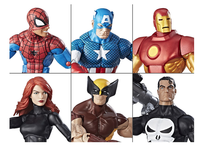Hasbro Marvel Legends 6″ Vintage Collection Wave 1 Pre-Orders