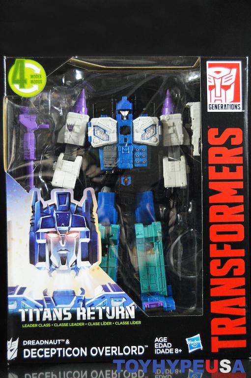Titans Return DREADNAUT /& Decepticon OVERLORD Transformers Generations Advanced