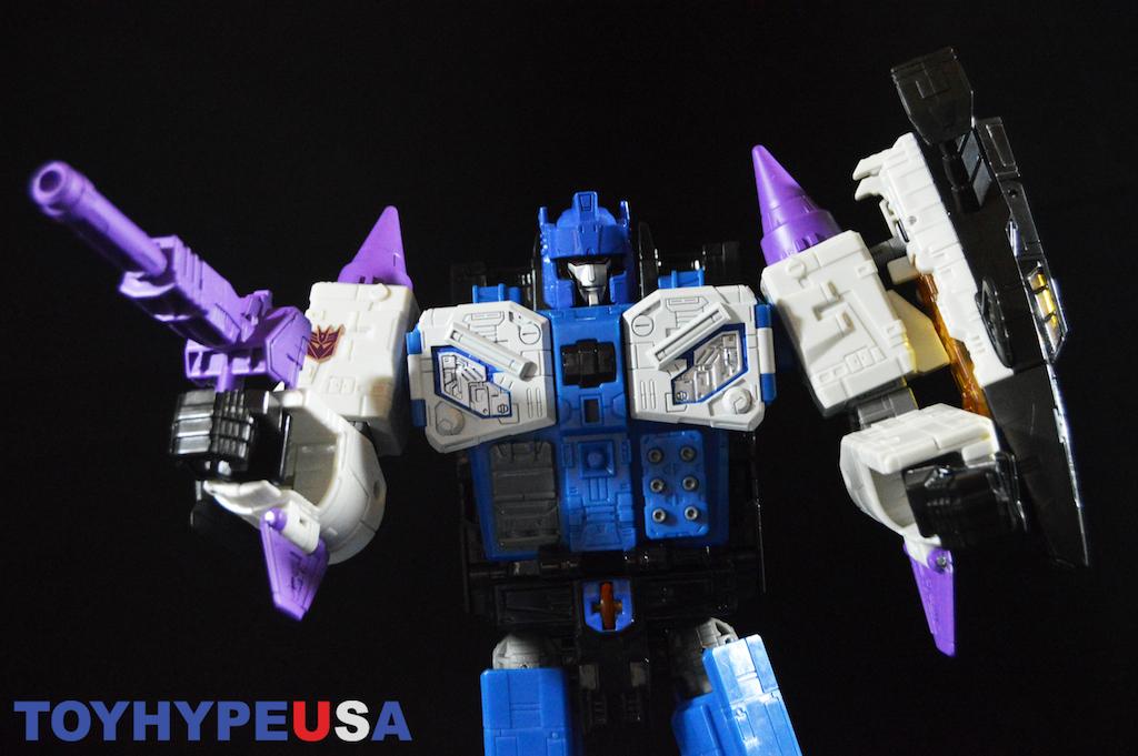 Hasbro Transformers Titans Return Leader Class Decepticon Overlord Figure Review