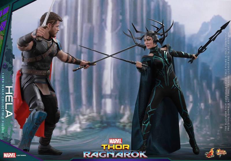 Hot Toys Thor: Ragnarok Hela Sixth Scale Figure