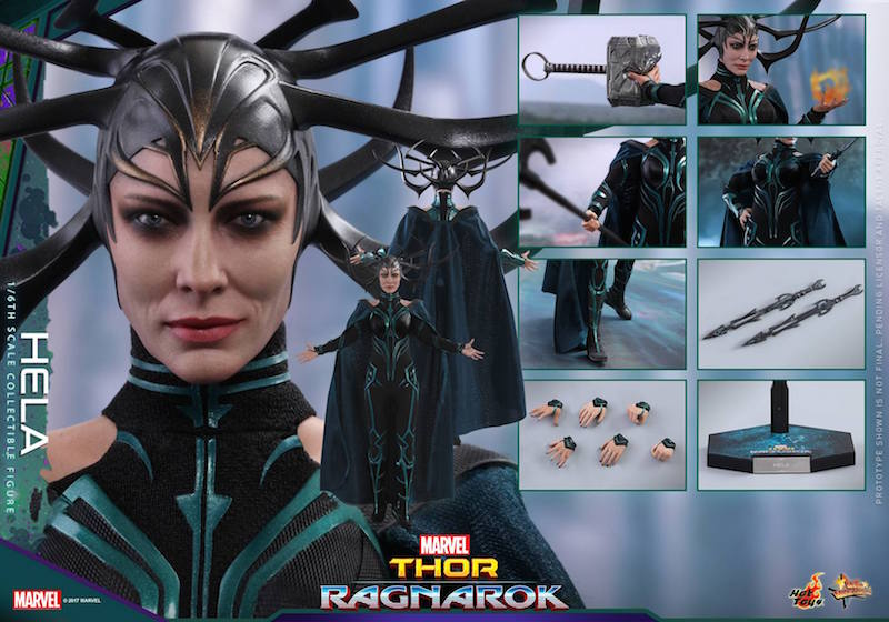 Hot Toys Thor: Ragnarok Hela Sixth Scale Figure Pre-Orders