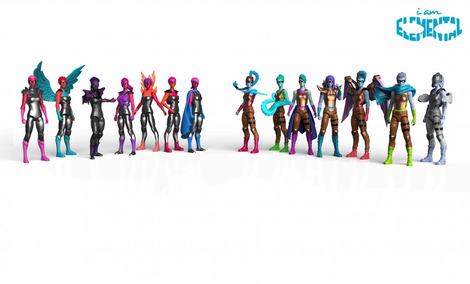 The Jim Henson Company To Develop Kids Series Based In IAmElemental's Female Action Figures